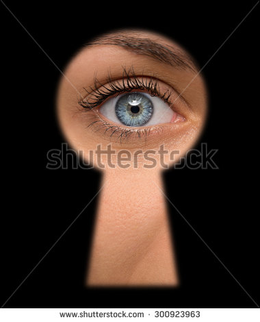 stock-photo-close-up-of-shocked-female-eye-looking-through-a-keyhole-300923963